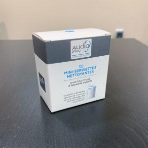 Audio2000 serviettes nettoyantes appareils auditifs
