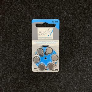 Audio2000 piles ZA675 appareils auditifs