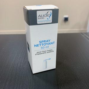 Audio2000 spray nettoyant appareils auditifs
