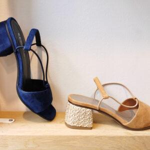 sandales à talons peau o17