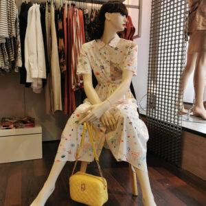 robe imprimée vilagallo