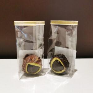 chataigne chocolat pate d'amande