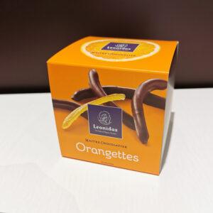 Cube orangette leonidas